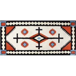 Brand New Anasazi Traders 100 Percent Wool Rug