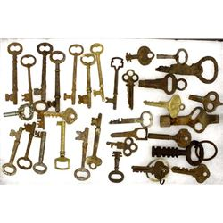 Collection of Antique and Vintage Keys