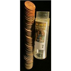 1920-65 Complete Set of Canada Cents in a plastic tube. Most of the coins including the 1925 grade E