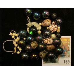 Group of Old Beads & Marbles.