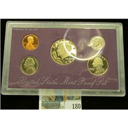 1990 S U.S. Proof Set, Original as issued.
