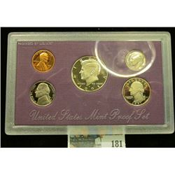 1991 S U.S. Proof Set, Original as issued.
