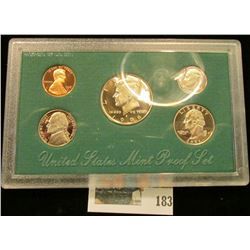1996 S U.S. Proof Set, Original as issued.