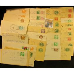 (59) Old Mixed Postal Cards.