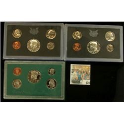 (2) 1970 S U.S. Silver Proof Sets & 96 S U.S. Proof Sets, all original as issued.