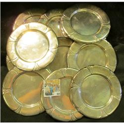 Part of the Estate of the John Morrell Family, of John Morrell Meat's fame. (11) Saucers all lightly