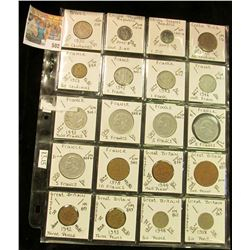 From Brazil to Great Britain. (20) various Foreign coins, which all have been attributed and have a