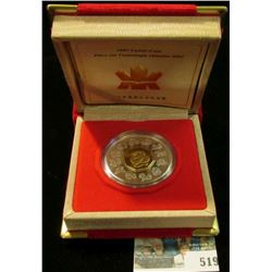 2001 Royal Canadian Mint (RCM) $15 Chinese Lunar Coin, Year of the Snake-Silver.