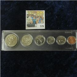 1975 Royal Canadian Mint (RCM) Annual Mint Set in a Snaptight Case.