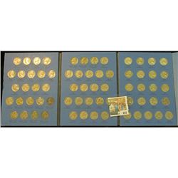 COMPLETE JEFFERSON NICKEL BOOK FROM 1938-1961.  THIS SET INCLUDES ALL 11 SILVER WAR NICKELS  & THE K