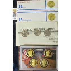 2007 PROOF PRESIDENTIAL DOLLAR SET, FLORIDA UNITED NUMISTATIST 28TH ANNUAL CONVENTION SOUVENIR SET W