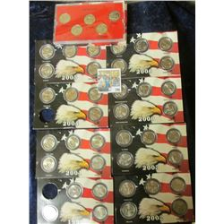 2000 DENVER STATE QUARTER MINT SET & 1999- 2008 STATE QUARTER COINS SETS