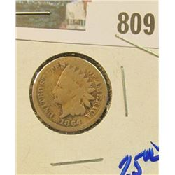 1864-CN INDIAN HEAD CENT