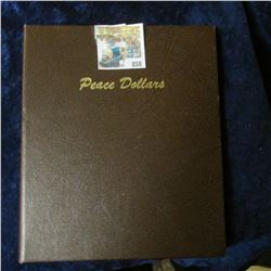 PEACE DOLLARS COIN ALBUM