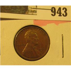 943 _ 1917 P Lincoln Cent, gorgeous Brown Uncirculated.