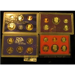 976 _ 1982 S, 85 S, & 2006 S U.S. Proof Sets, original as issued.