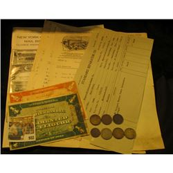 """982 _ Standard Separator Co. Invoice dated 7/28/13; (3) Invoices from 1905-06 """"White-Manufacturing C"""
