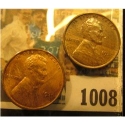 1008 _ Pair of 1931 P Lincoln Cents, both Brown Uncirculated.