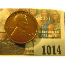 1014 _ 1930 S Lincoln Cent, Brown uncirculated.