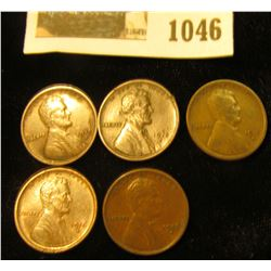 1046 _ (2) 1915 D VF, 15 S Fine, & (2) 16 S EF Lincoln Cents.
