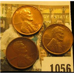 1056 _ 1912 D VF, 40 P Red BU, & 40 D Red BU Lincoln Cents.