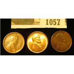 1057 _ 1912 D Fine, 40 P Red BU, & 40 D Red BU Lincoln Cents.