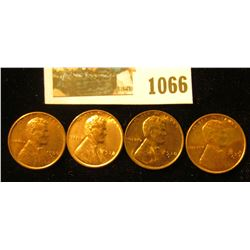1066 _ 1936 S, 38P, S, & 39 D Uncirculated Lincoln Cents.