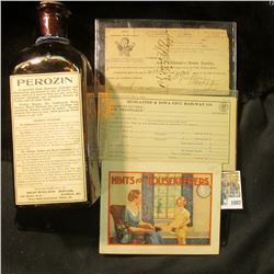 """1087 _ """"Lubin's Pharmacy Cor. Clinton and College Sts. Iowa City, Iowa Hints for Housekeepers"""" Bookl"""