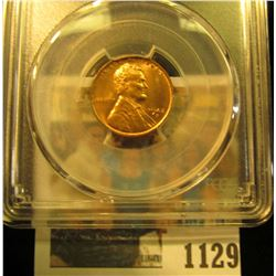 1129 _ 1942 D Lincoln Cent, PCGS slabbed MS65RD