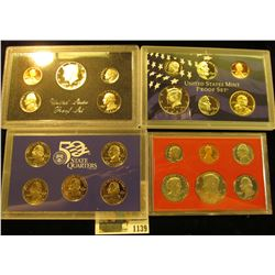 1139 _ 1981 S, 83 S, & 2005 S U.S. Proof Sets. Original as issued.