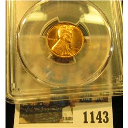 1143 _ 1945 P Lincoln Cent, PCGS slabbed MS65RD