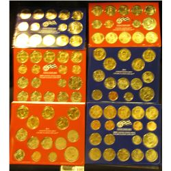 1147 _ 2008 (28 coins), 2009 (36 coins) & 2011 (28 coins) U.S. Philadelphia & Denver Uncirculated Co