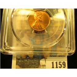 1159 _ 1945 S Lincoln Cent, PCGS slabbed MS65RD