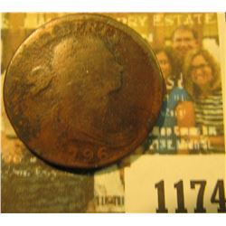 1174 _ 1796 U.S. Large Cent, very scarce date.