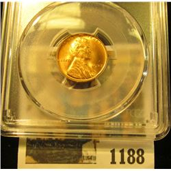 1188 _ 1937 P Lincoln Cent, PCGS slabbed MS65RD