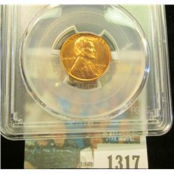 1317 _ 1954 S Lincoln Cent, PCGS slabbed MS65RD.
