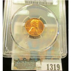 1319 _ 1955 P Lincoln Cent, PCGS slabbed MS65RD.