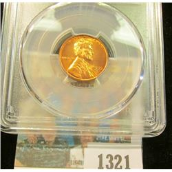 1321 _ 1955 D Lincoln Cent, PCGS slabbed MS65RD.