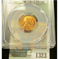 1323 _ 1955 S Lincoln Cent, PCGS slabbed MS65RD.
