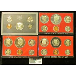 1329 _ 1968 S (with Silver Half), 76 S (with Type 2 Dollar), 78 S (Includes Dollar), & 79 S (all Typ