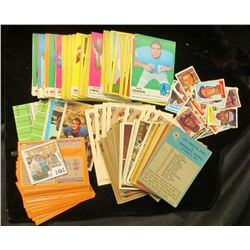 1461 _ Shoebox full of 1970 era Football Cards and stickers.