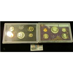 1522 _ 1969 S (Silver) & 1984 S U.S. Proof Sets. Original as issued.