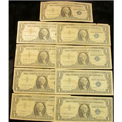 1545 _ (3) Complete Sets of Series 1957 $1, Series 1957A $1, & Series 1957B $1 U.S. Silver Certifica
