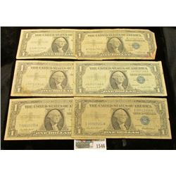 1546 _ (2) Complete Sets of Series 1957 $1, Series 1957A $1, & Series 1957B $1 U.S. Silver Certifica