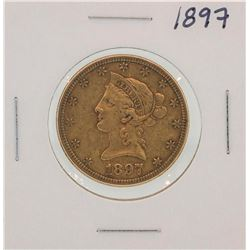 1897 $10 Liberty Head Half Eagle Gold Coin