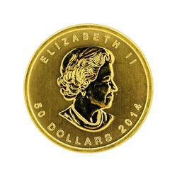 2014 Canada $50 Maple Leaf 1 oz. Gold Coin