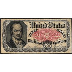 1875 Fifty Cent Fifth Issue Fractional Note