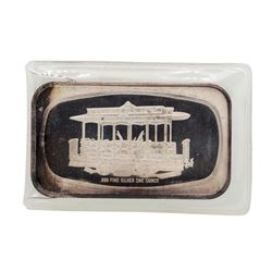 Payne Avenue 1 oz .999 Fine Silver Art Bar