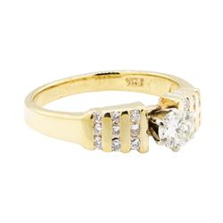 14KT Yellow Gold Lady's 0.70 ctw Diamond Ring