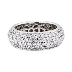 14KT White Gold 3.40 ctw Diamond Ring